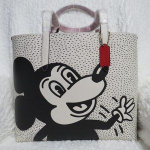 Coach Mickey Keith Haring Highline Tote (C0895)